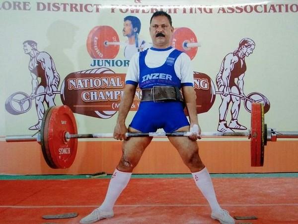 International Powerlifting coach Joseph James (Image: SAI)