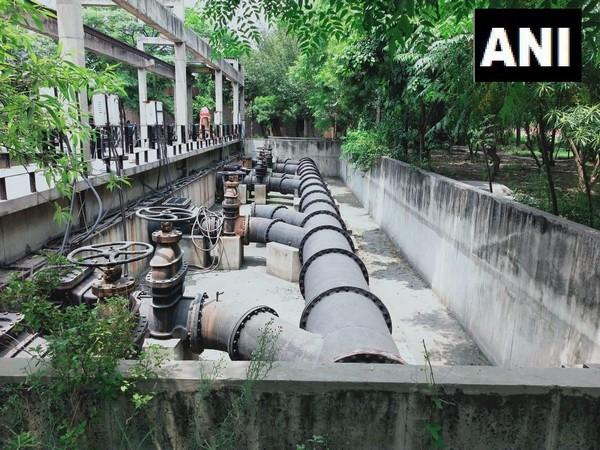 Non-functional sewerage treatment plant of Jamalpur.