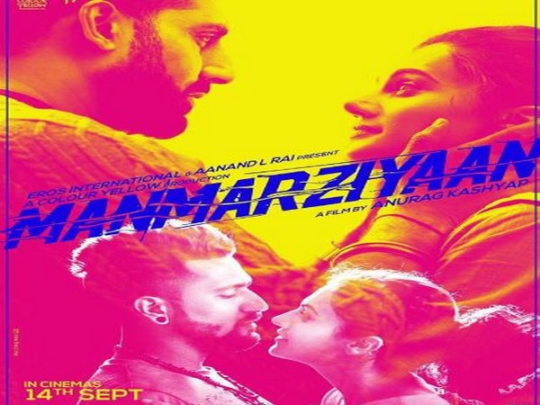 'Manmarziyaan' poster, Picture courtesy: Instagram