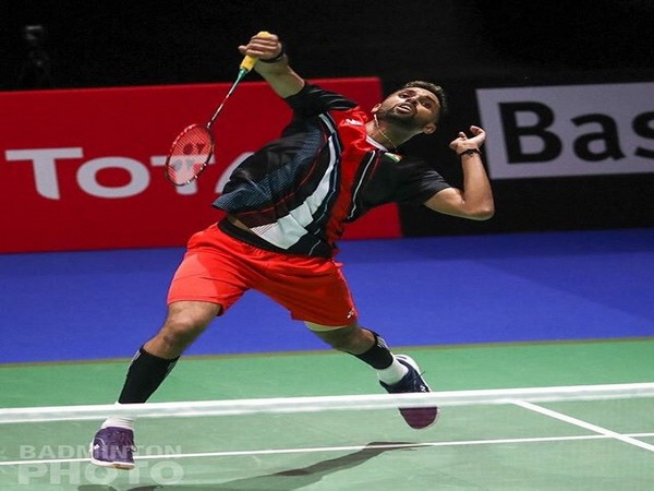 Indian shuttler H.S. Prannoy (Picture: BAI Media's twitter))
