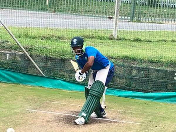 South Africa batsman training ahead of first one-day against India. (Photo/Cricket South Africa Twitter)