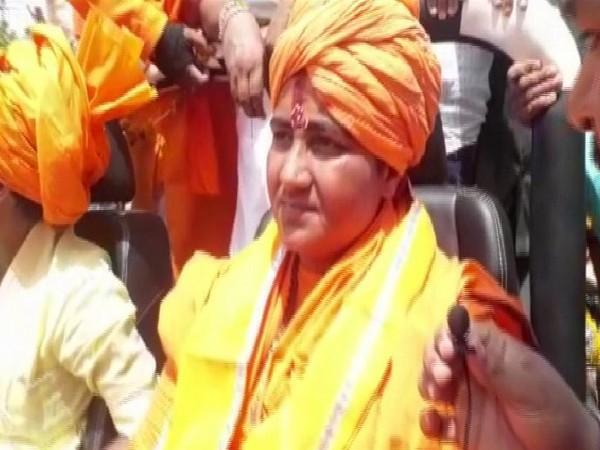 BJP's Bhopal candidate Pragya Singh Thakur. (File picture)