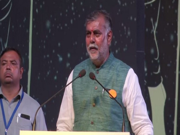 ourism Minister Prahlad Patel speaking at Paryatan Parv inauguration event in New Delhi on Wednesday. Photo/ANI