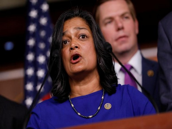 Pramila Jayapal, a Democrat from Washington DC. (Photo/Reuters)