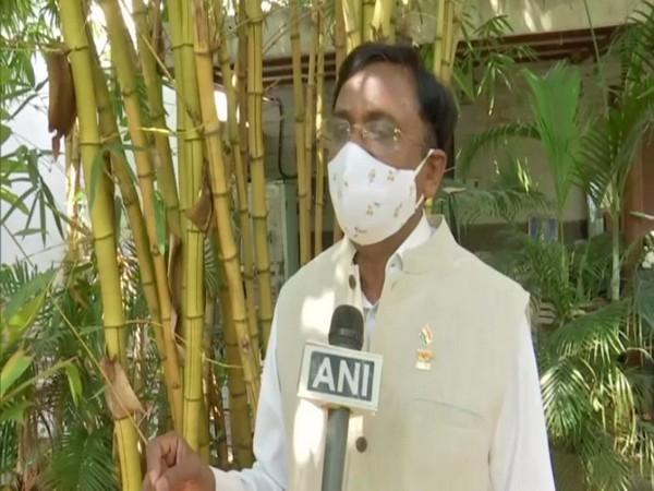 BJP leader G Vivekanand (Photo/ANI)