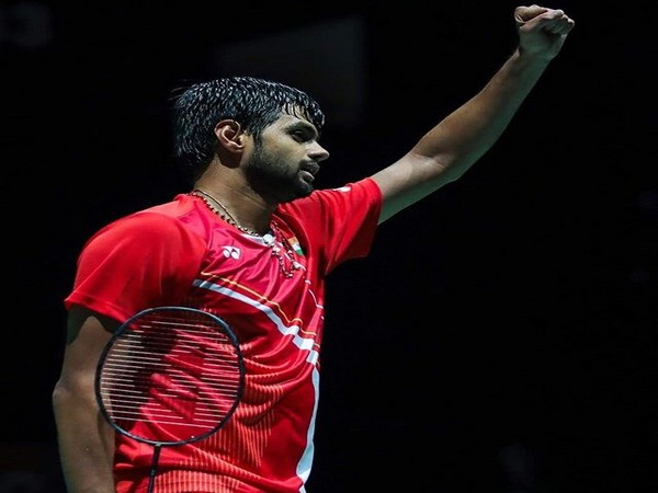Indian shuttler Sai Praneeth (PHoto/BAI Media Twitter)