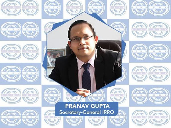 Pranav Gupta, Secretary General, IRRO