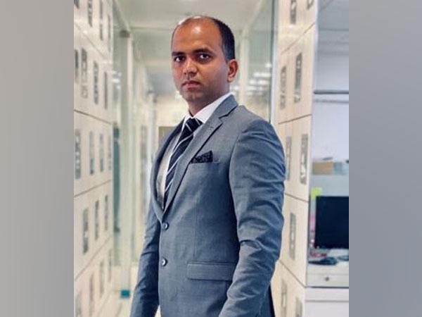 Prashant Dwivedi, MD of Navbharat Water Pvt Ltd