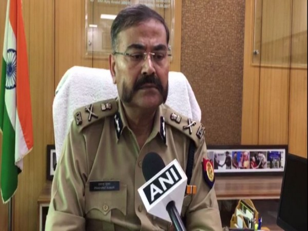 Additional Director General of Uttar Pradesh Police (Meerut Zone) Prashant Kumar talking to ANI on Thursday. Photo/ANI