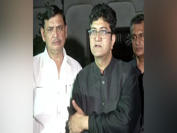 Chairperson of Central Board of Film Certification Prasoon Joshi (Photo/ANI)