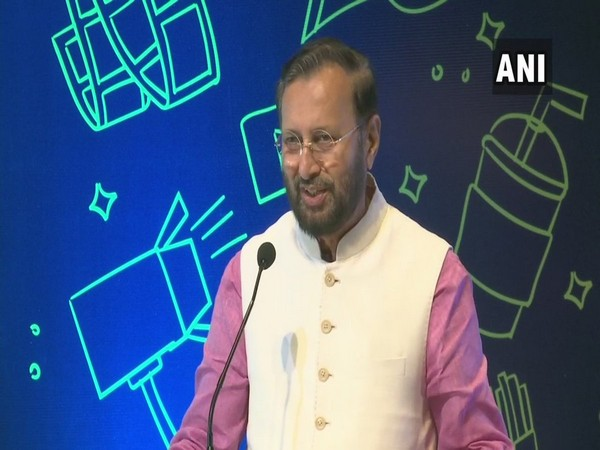 Union Union Information and Broadcasting Minister Prakash Javadekar at an event in New Delhi on Thursday