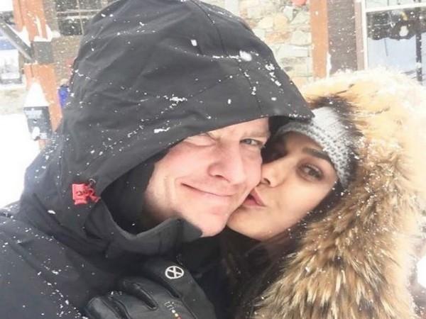 Preity Zinta with husband Gene Goodenough