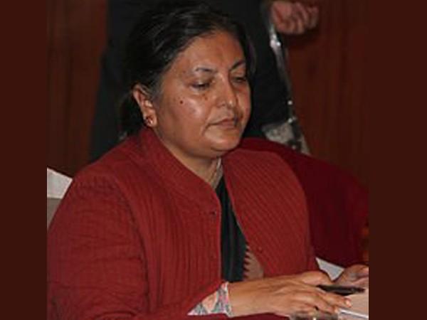 Nepal's President Bidya Devi Bhandari