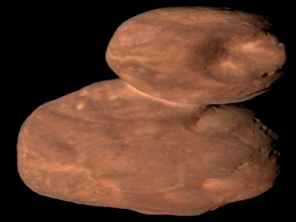 Arrokoth comprises of two connected lobes that have a uniform composition and smooth terrain (Picture Courtesy: NASA)