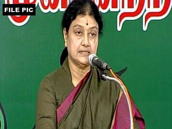Former AIADMK leader VK Sasikala  (File Photo)