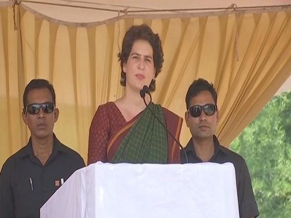 Congress leader Priyanka Gandhi Vadra