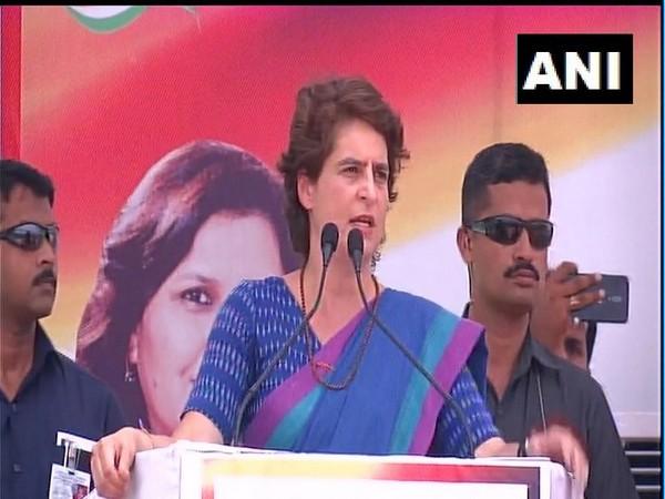Congress leader Priyanka Gandhi Vadra (File Photo/ANI)
