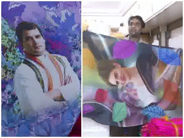 Visual of the saris