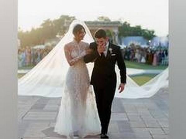 Celebrity couple Priyanka Chopra and Nick Jonas