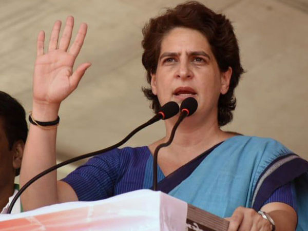 Congress leader Priyanka Gandhi Vadra (File photo/ANI)
