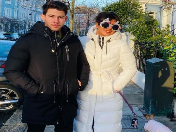 Priyanka Chopra with husband Nick Jonas (Image Courtesy: Instagram)