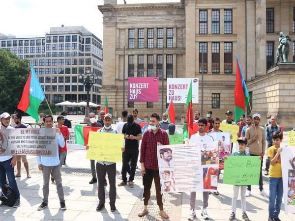 Protests held in Germany against illegal detention of Baloch political leaders