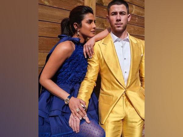 Priyanka Chopra with husband and singer Nick Jonas (Image Source: Instagram)