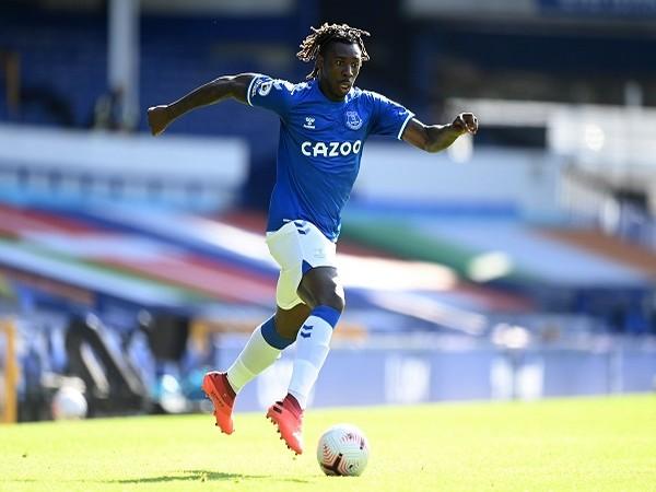 Everton striker Moise Kean