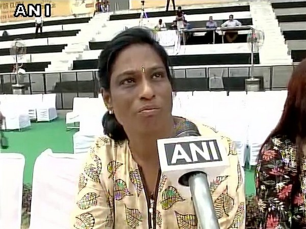 Legendary athlete P T Usha (File photo)