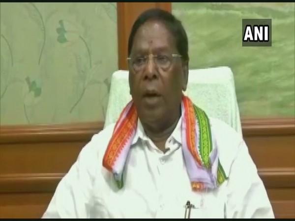 Puducherry Chief Minister V Naranasamy (File Photo)