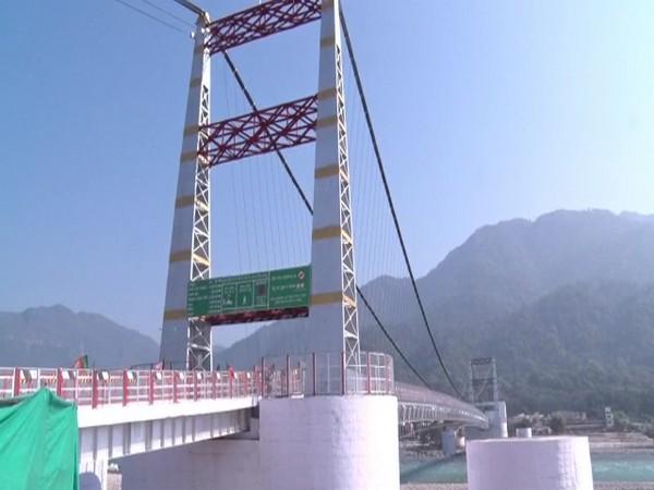 Janaki Setu, the suspension footbridge