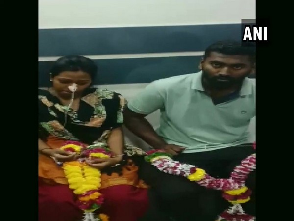 The girl was admitted to the hospital after she tried to end her life when the man allegedly refused to marry her. (Photo/ANI)
