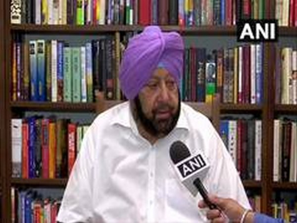 Punjab Chief Minister Captain Amarinder Singh while talking to media on Wednesday in Chandigarh