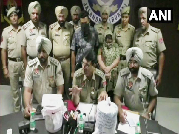 Two persons arrested by Punjab Police with 1.60 kilograms of heroin on Monday.
