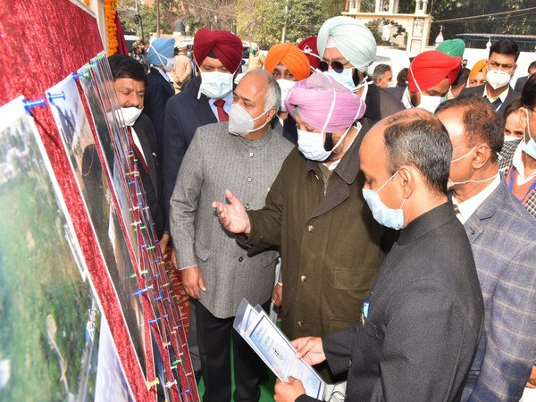 Punjab CM reviewing the work of rejuvenation of Nadis