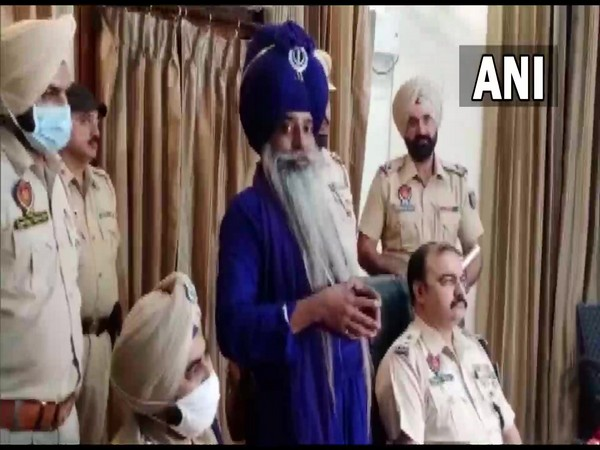 Nihang Sikh arrested by the Punjab police (Photo/ANI)