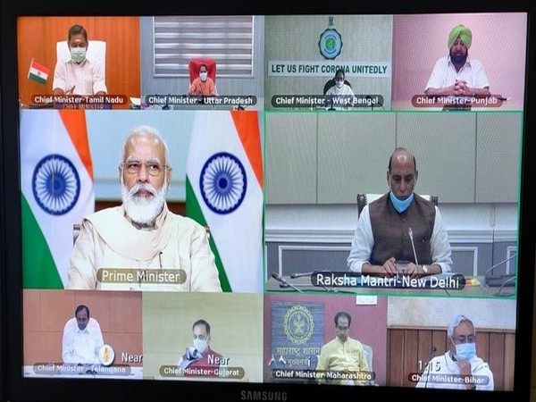 PM Narendra Modi is holding a meeting with CMs of various states to discuss the situation arising out of COVID-19.