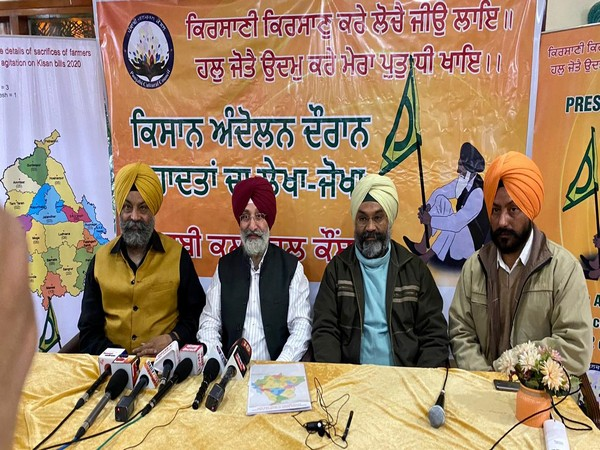 Members of the council addressing the mediapersons at Chandigarh on Sunday.