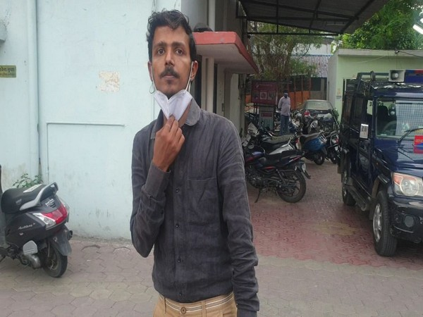 Accused of black marketing Remdesivir, Punit Agrawal, arrested by Indore Police. (Photo/ ANI)