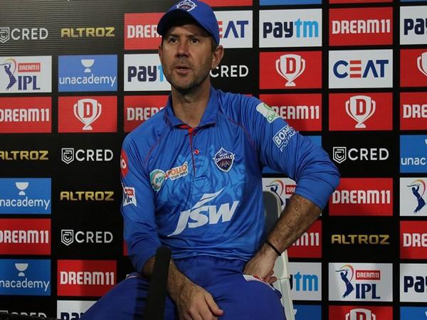 Delhi Capitals' coach Ricky Ponting. (Photo/ iplt20.com)