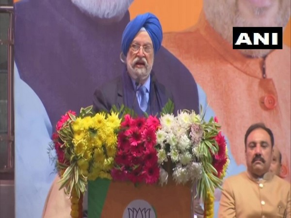Union Minister Hardeep Singh Puri speaking at a programme in New Delhi on Monday