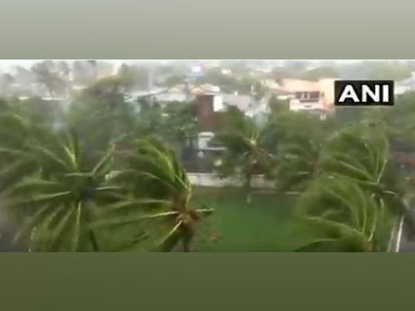 Strong winds and rainfall hit Puri in India on May 3 as Cyclone Fani makes landfall (representative image)