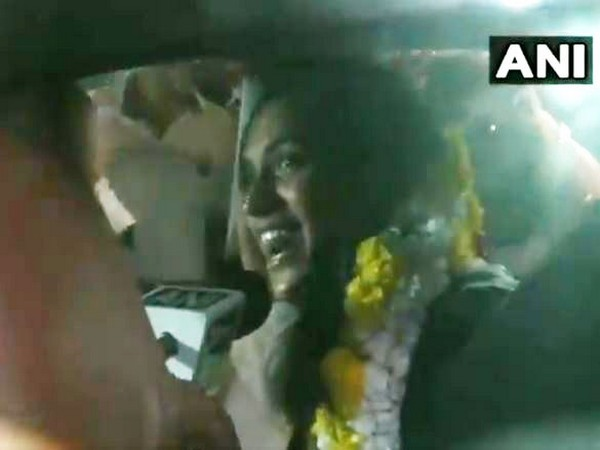 PV Sindhu speaking to ANI in New Delhi on Tuesday.