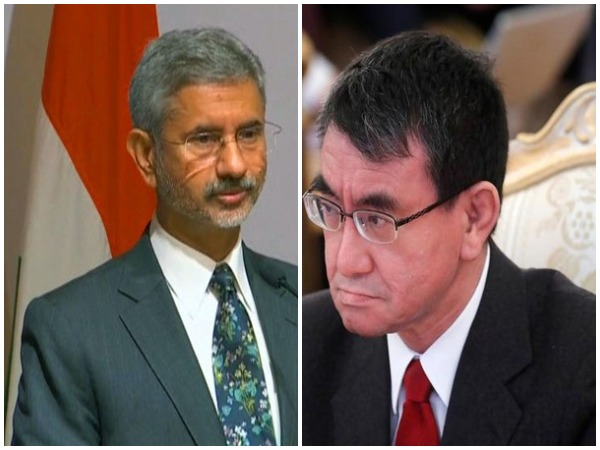 Japanese Foreign Minister Kono Taro and External Affairs Minister S. Jaishankar (File photos)