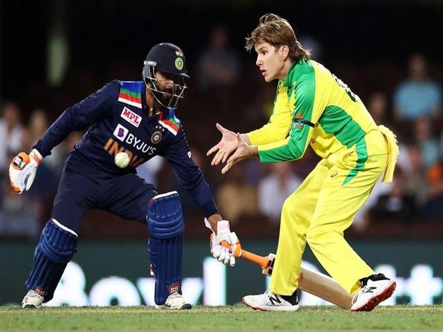 Adam Zampa in action against India in first ODI (Photo/ cricket.com.au Twitter)