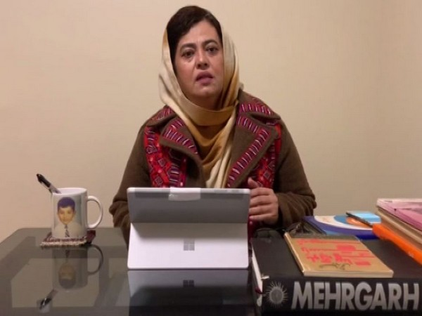 Naela Quadri Baloch, the President of the World Baloch Women's Forum (file photo)