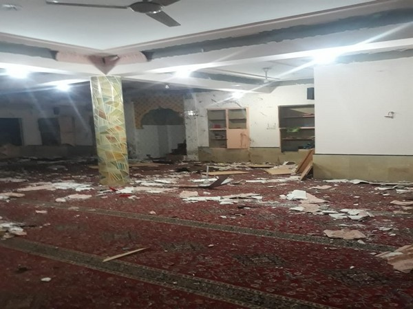 Visuals from the mosque where blast took place in Quetta on Friday.