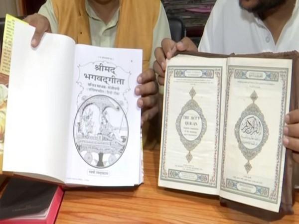 Libraray at BJP office Dehradun has Quran and Bible apart from Hindu scriptures