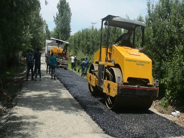 Roads under construction in J-K (Photo/ANI)
