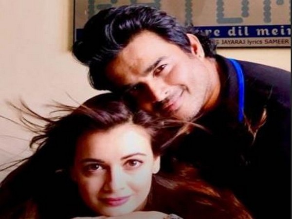 R Madhavan and Dia Mirza (Image courtesy: Instagram)